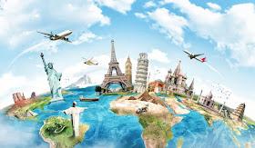 Traveling across the globe