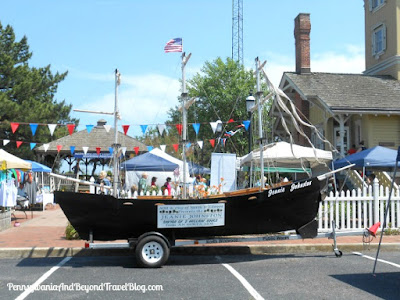 2017 Maritime Festival at Hereford Inlet Lighthouse