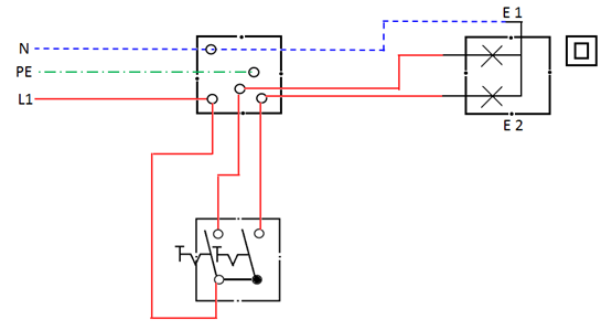 Lokasi jendela ilmu terdekat sistim pengaturan penerangan saklar seri gambar diagram kerja ccuart Choice Image