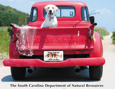 South Carolina: Dog Gone Fishing
