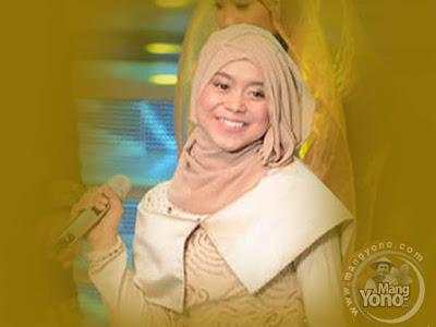 Lesti Terlihat Anggun Memakai Hijab