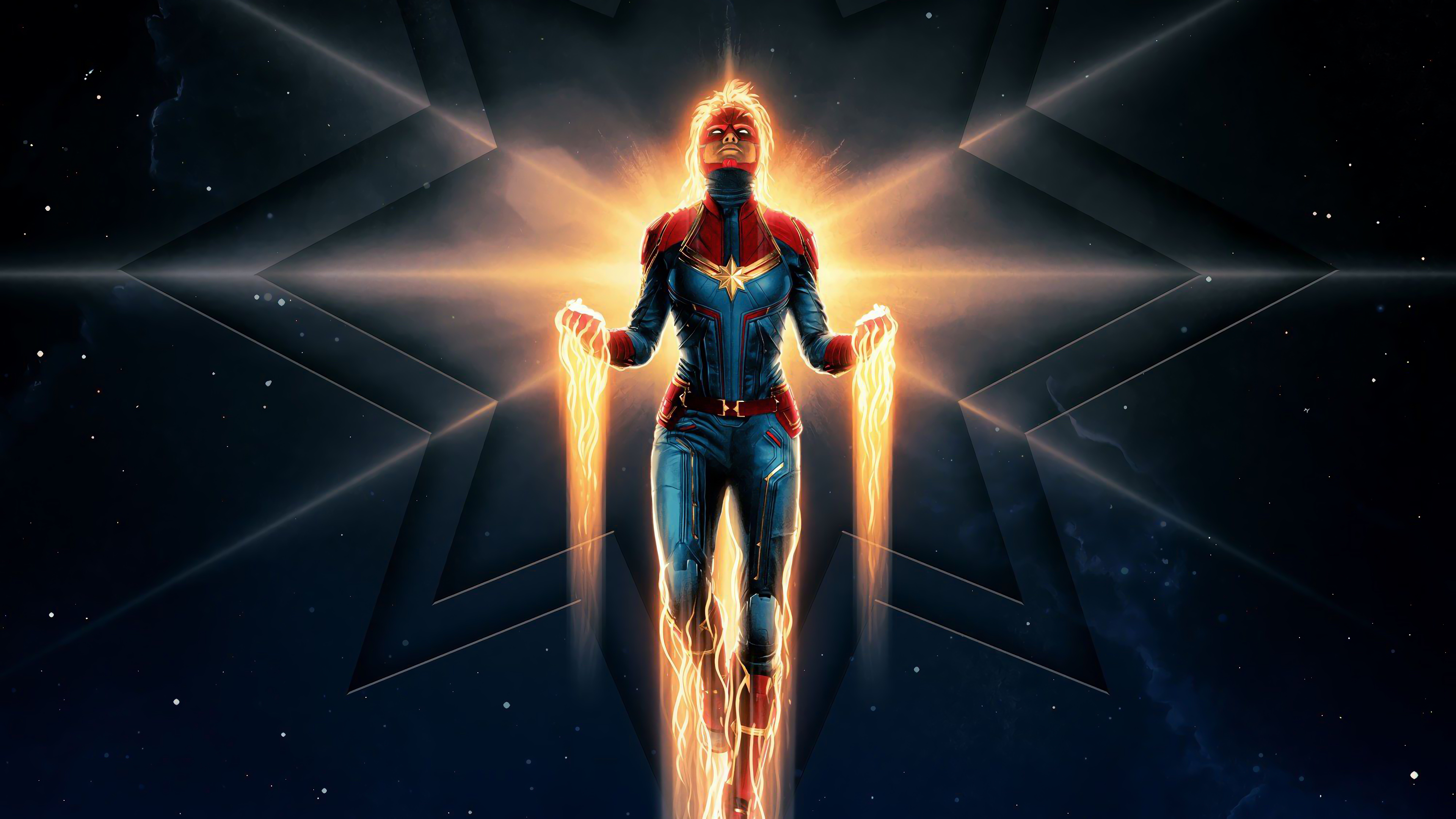 Captain Marvel Movie 4k Wallpaper 4