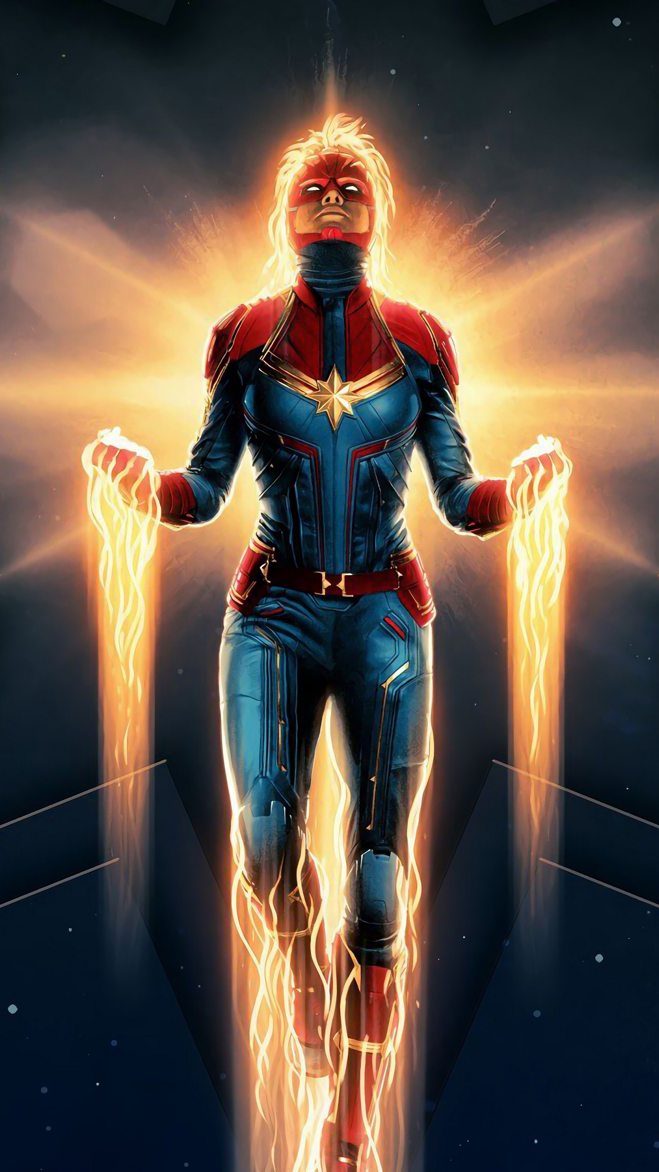 Captain Marvel Movie 4k Wallpaper 4