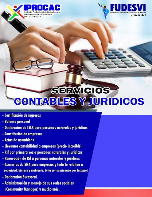 Servicios contables y jurídicos