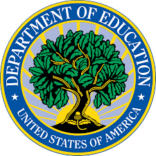 Logo Kementrian Guru dan Pendidikan Amerika Serikat