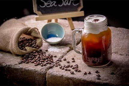 Café et sel de mer