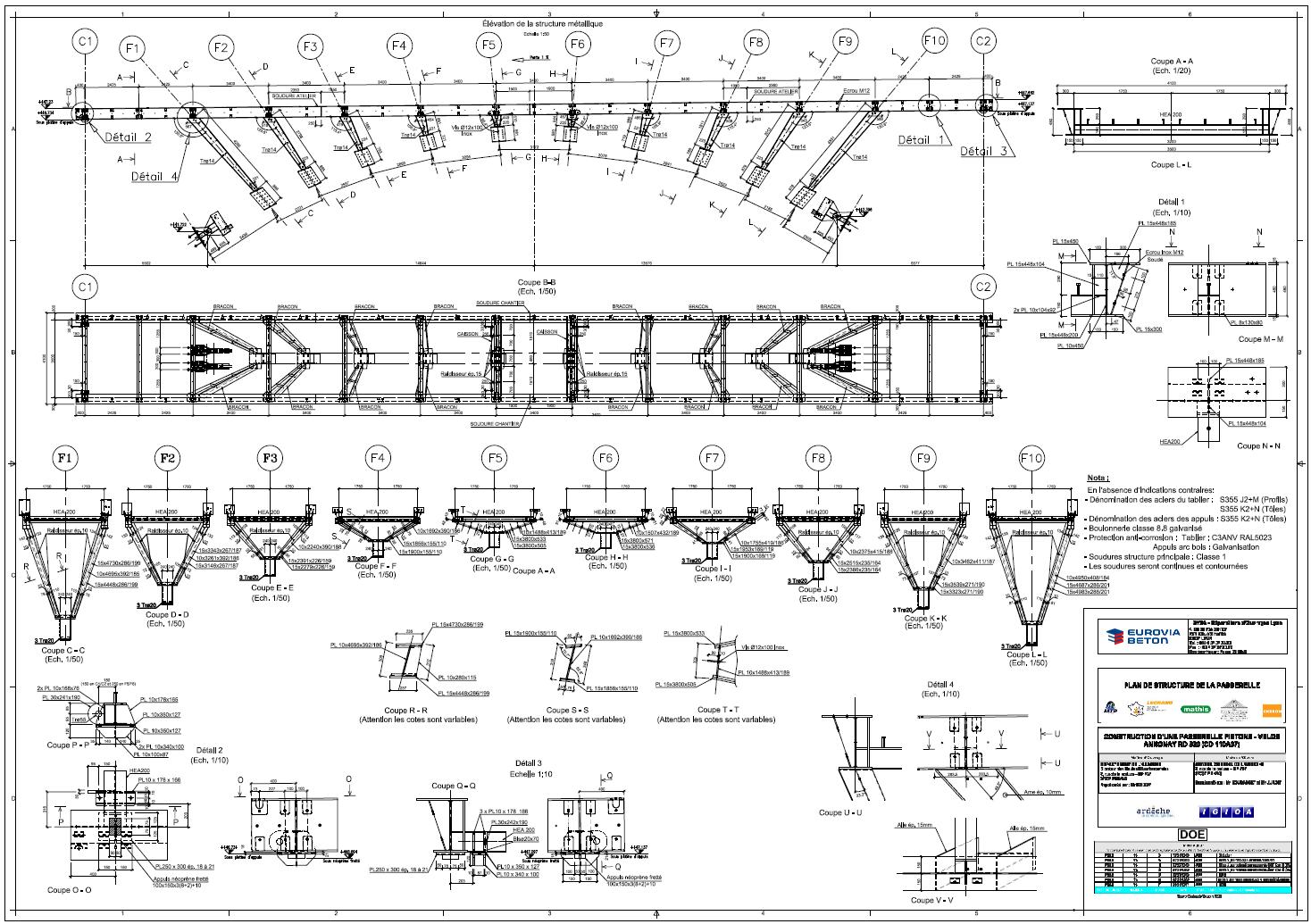 Planos de ejecuci n for Planos de estructuras