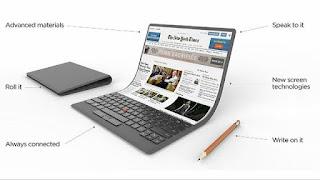 لينوفو,تطوير, حاسب, محمول,شاشة مرنة ,ThinkPad ,التقنية,A foldable PC,