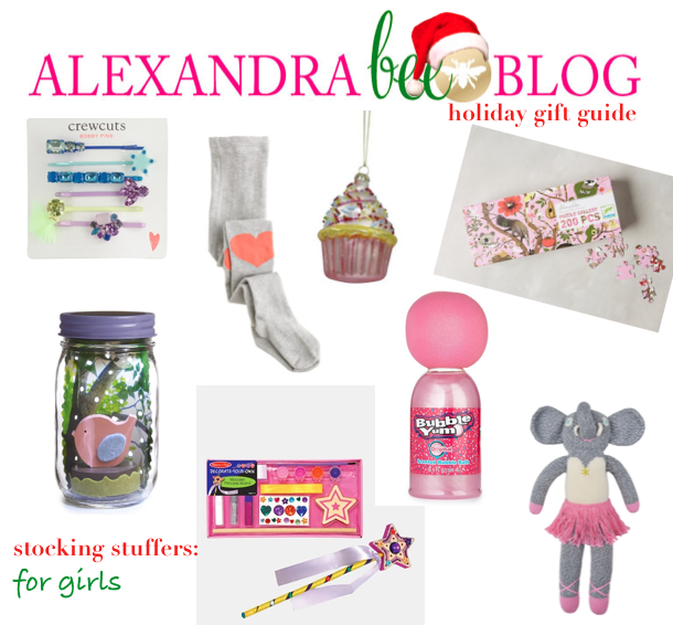 Alexandra Bee Blog Holiday Gift Guide Stocking Stuffers