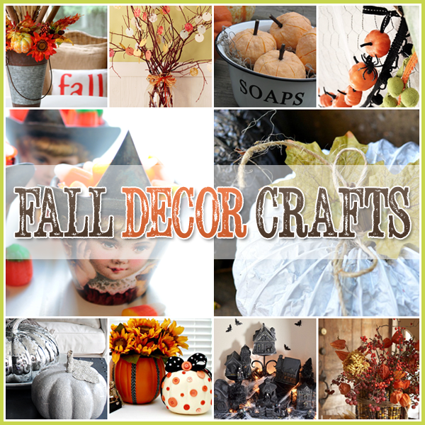 30 DIY Fall Crafts | 30 DIY projects that are perfect for fall and will look great around your home