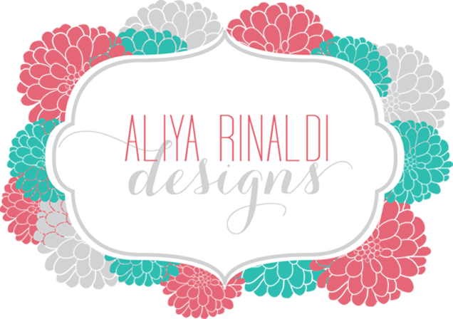 Aliya Rinaldi Designs: Invitations, Logos & Graphic Design