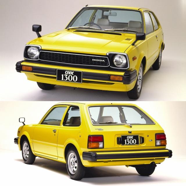 1979 Honda Civic 3-door Second Generation Yellow
