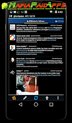 TwitPanePlus for Twitter Apk MafiaPaidApps