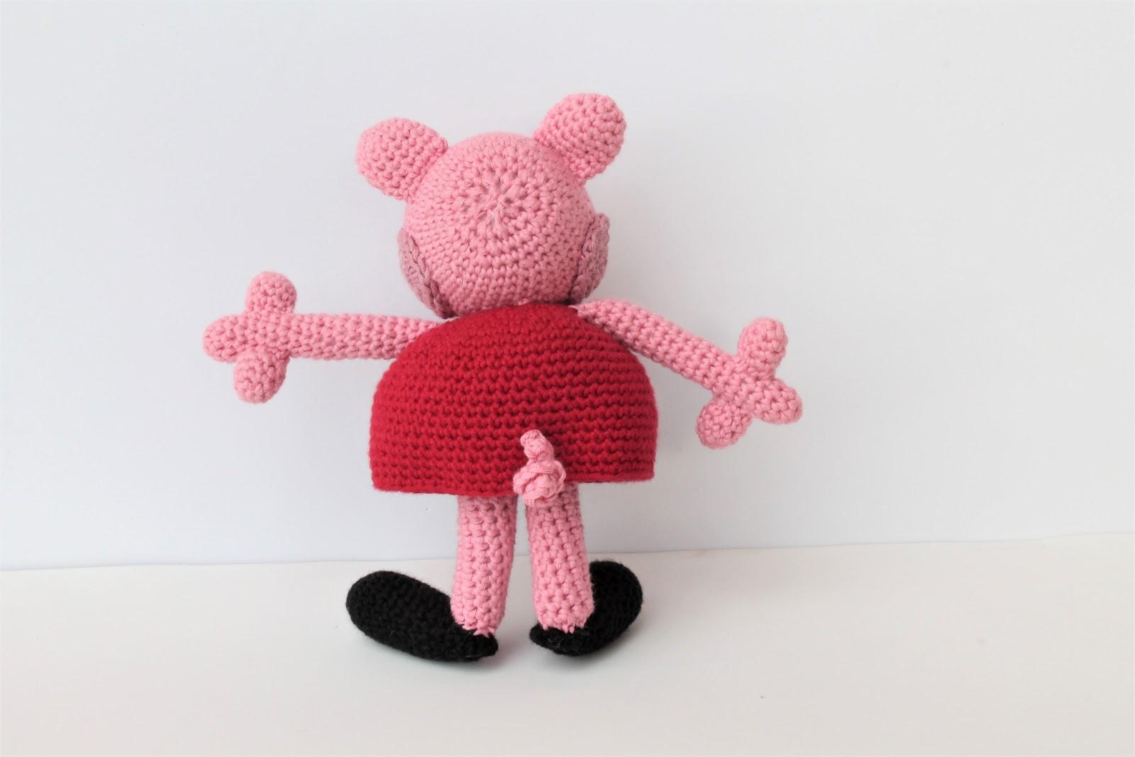 Peppa Pig Amigurumi Taller De Mao : matemo: Peppa Pig amigurumi