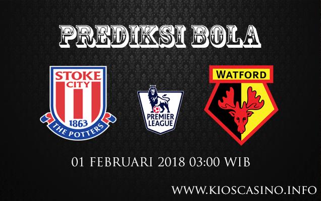 Prediksi Bola Stoke City vs Watford 1 Februari 2018