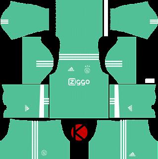 Ajax Amsterdam Kits 2017/2018 - Dream League Soccer