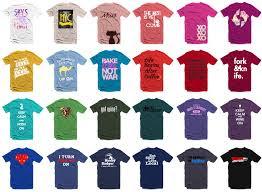 Bulk T Shirt Printing