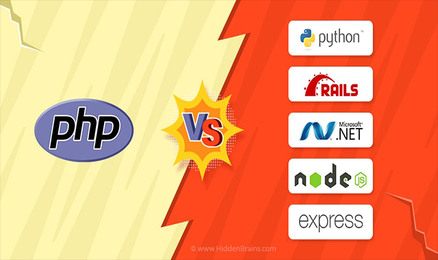 Comparing PHP with Python, RoR, ASP.NET, Node.js and Express.js
