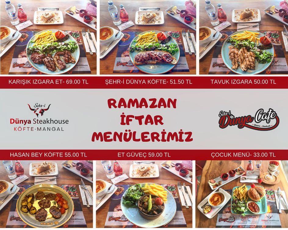 eskişehir iftar menü fiyatları eskişehir ramazan menüleri eskişehir tepebaşı yemek yerleri