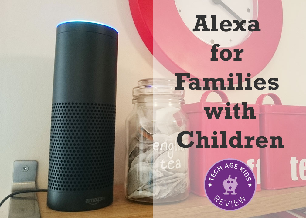 6dc597f27687f9 Amazon Echo with its Alexa voice-based personal assistant has made quite an  impression on our household including my children. Elbrie has enjoyed using  ...