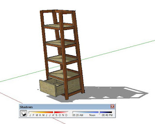 Shadow Effect On Sketchup