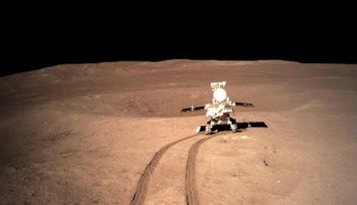 Yutu 2, Memulai Misinya Untuk Menjelajahi Sisi Jauh Bulan