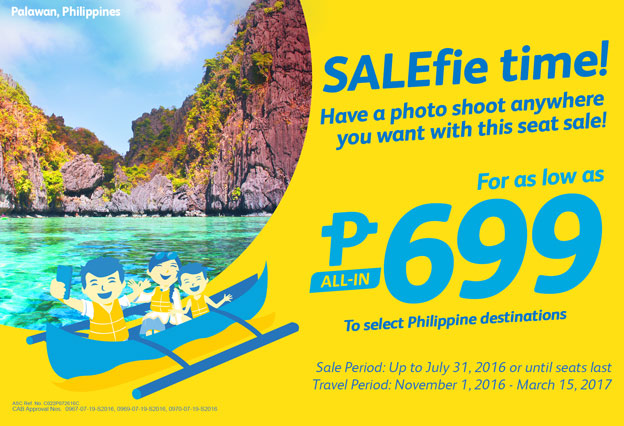 Cebu Pacific Promo Ticket 2016