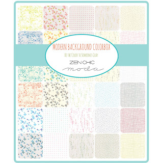 Moda Modern Background Colorbox Fabric by Zen Chic for Moda Fabrics