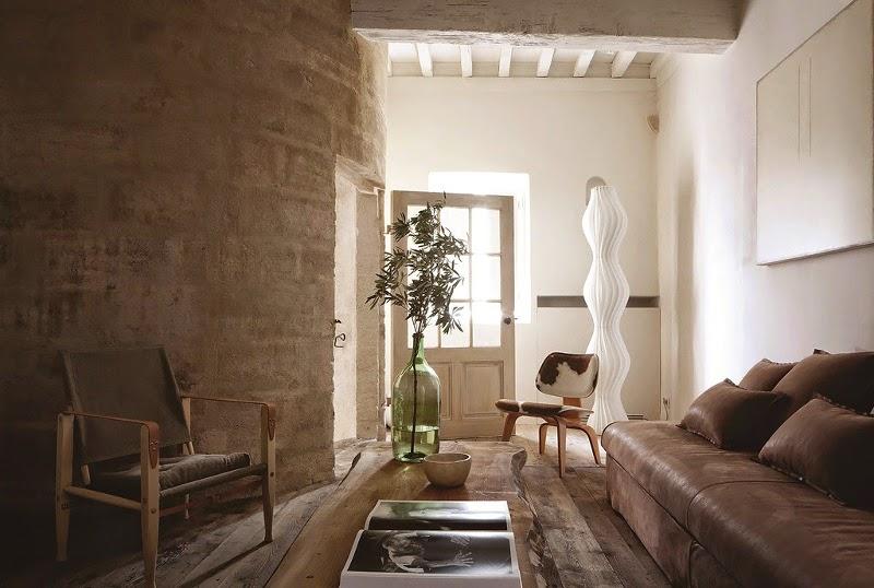 Noir blanc un style for Interieur provence