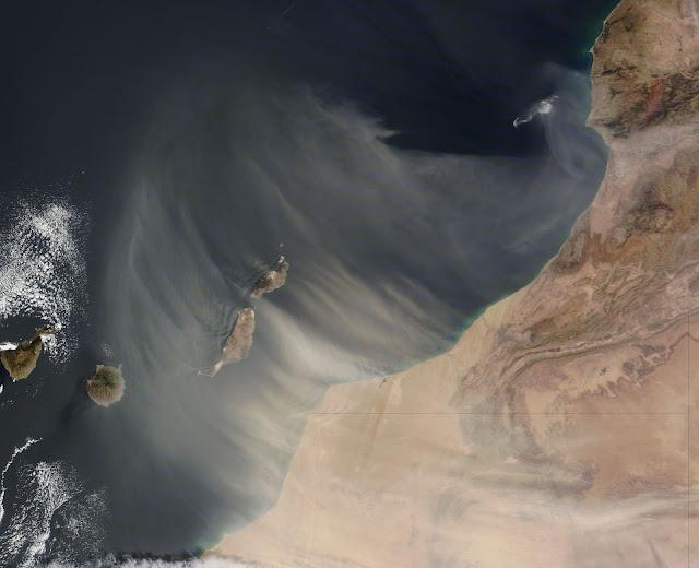 Calima venti sahara Canarie