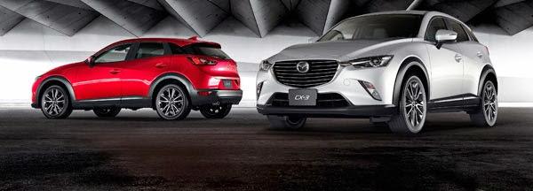 Mazda CX-3 Siap Bersaing Dengan Kelas SUV Lain Di Indonesia