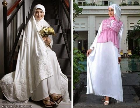 baju pengantin muslim wanita gemuk