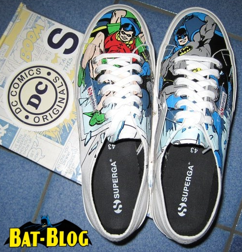 detailed look 3a202 d396c BATMAN SHOES - Superga x DC Comics Sneakers From Italy!