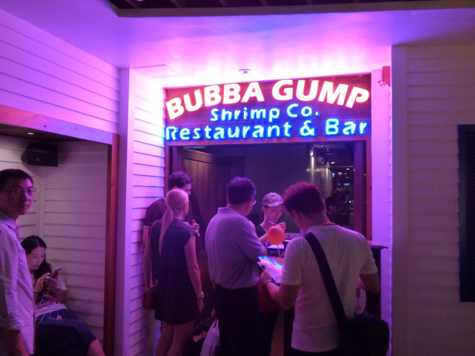 Bubba Gump Hongkong