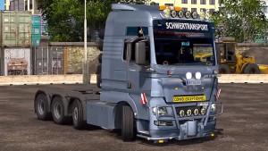 MAN TGX 2010 v 3.5 truck mod by XBS