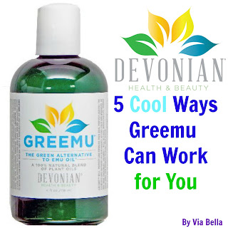 emu oil, argan oil, beauty oils, shea butter, natural beauty, cruelty free, vegan, #hsreviews #naturalbodycare #greemuoil  #vegan, 5 cool ways Greemu can work for you, greemu oil, Via Bella