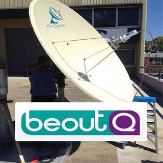 شرح طريقة استقبال قمر بدر 26 درجة شرقا ومشاهدة قنوات beoutQ