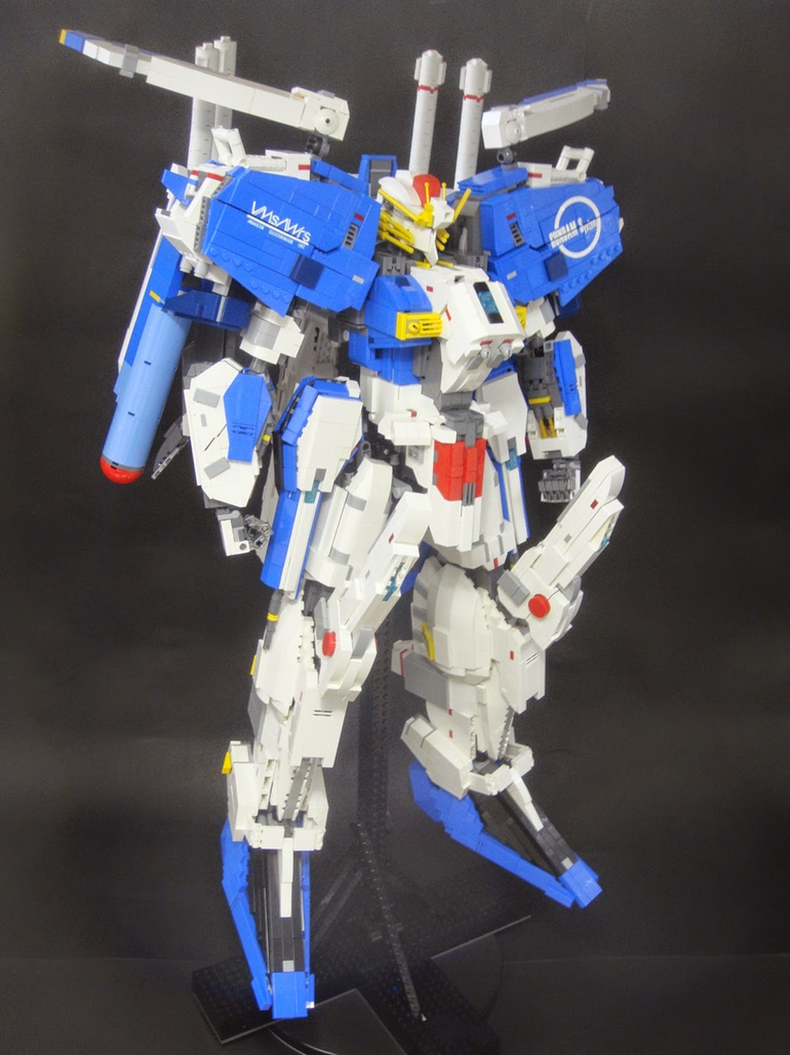 Lego Build 1 40 Scale Ex S Gundam Gundam Kits