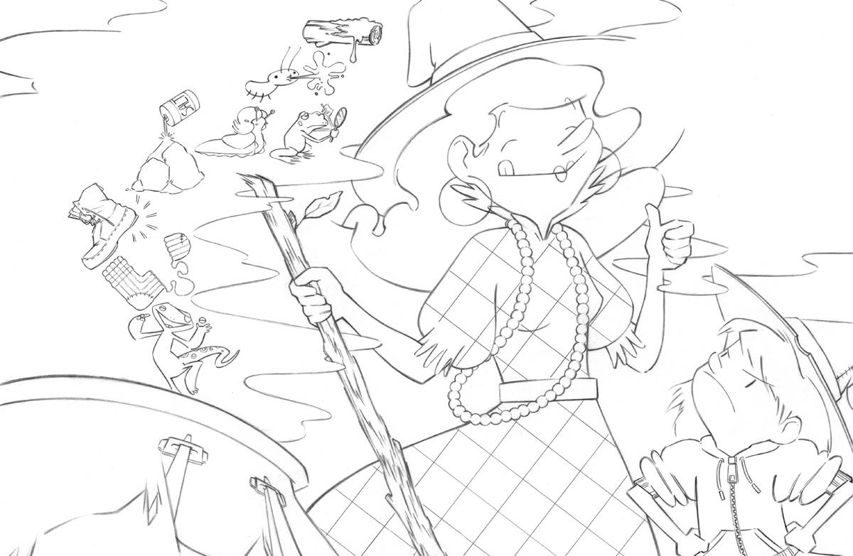 Cynsations: Illustrator Marsha Riti on The Picky Little Witch