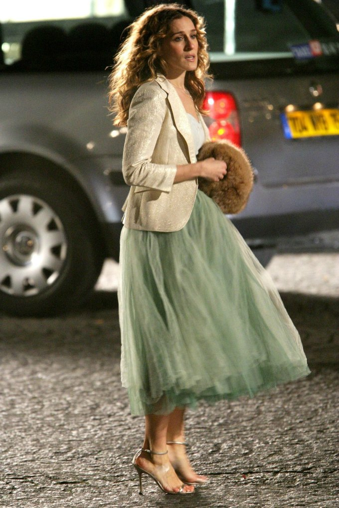 Looks da Carrie Bradshaw em Sex And The City