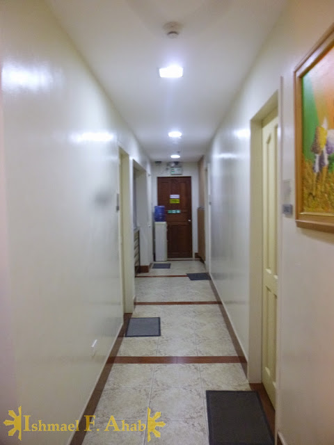 Empty corridor of Marrianne Home Inn, Puerto Princesa