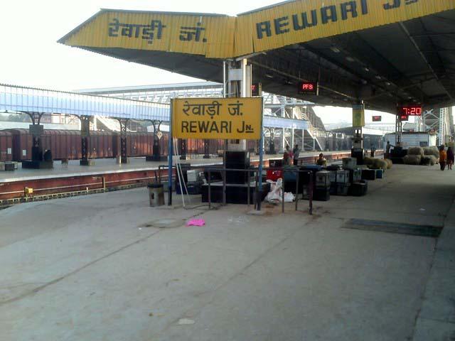 रेल एडवेंचर- रेवाडी से अलवर