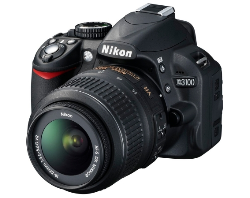 nikon d3100 dslr kamera