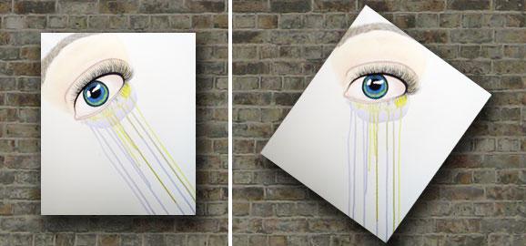 art, artist, artwork, painting, paint, eye, eye art, eye painting, beauty art, multicoloured eye, eye art series, malinda prudhomme, toronto art, toronto artist, toronto portrait artist, malinda prudhomme, canadian artist