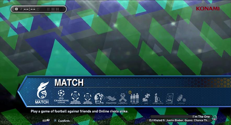 PES 2018 Dynamic Menu Background Video For PES 2013 By Wawakh