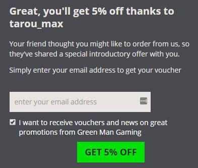green man gaming クーポン