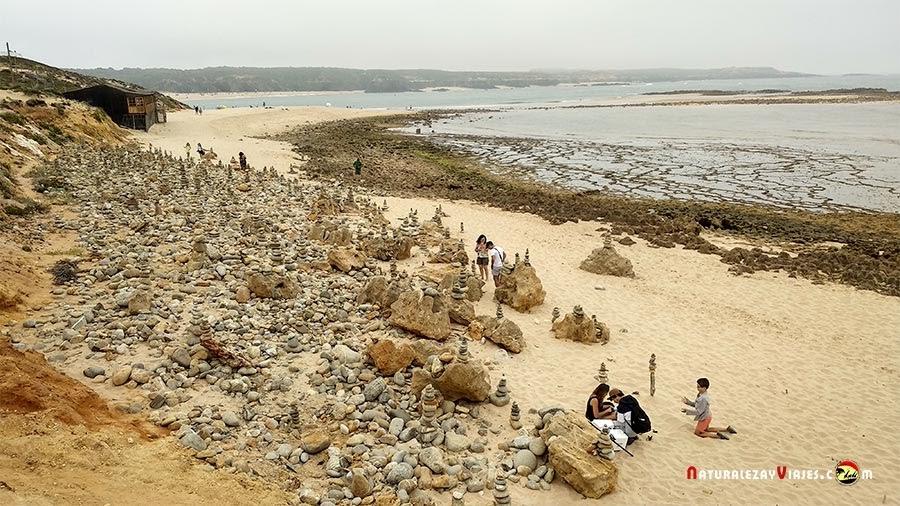 Praia do Farol en Vila Nova Milfontes, Alentejo