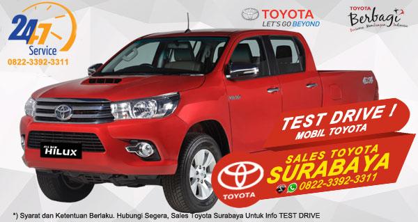 Info Test Drive Toyota Hilux D-Cab Surabaya