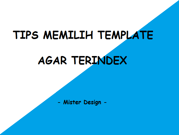 Tips Memilih Template