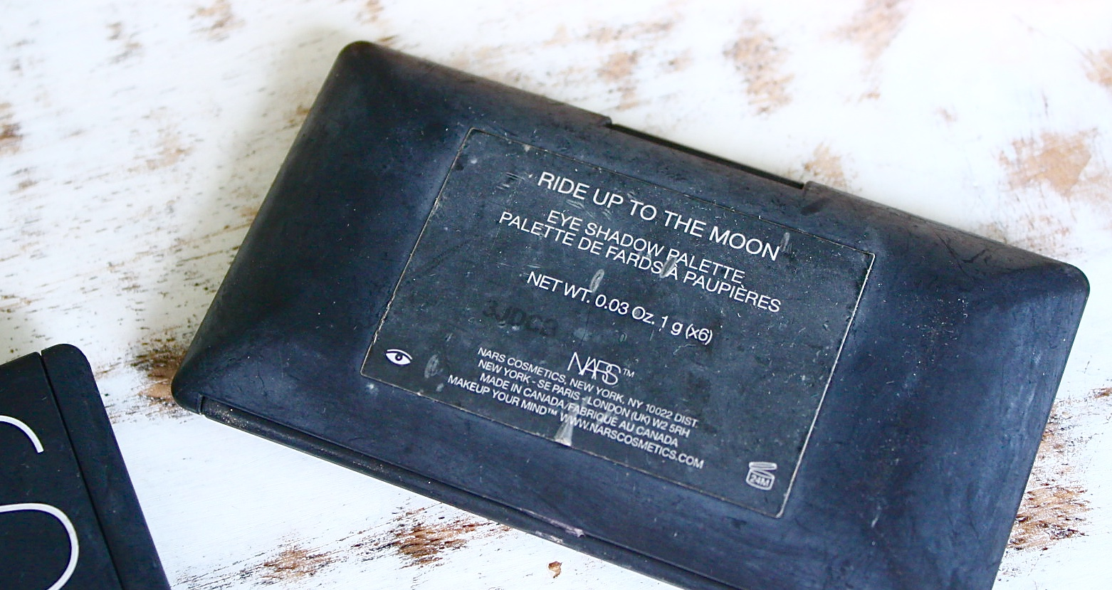NARS Ride Up To The Moon Palette Review